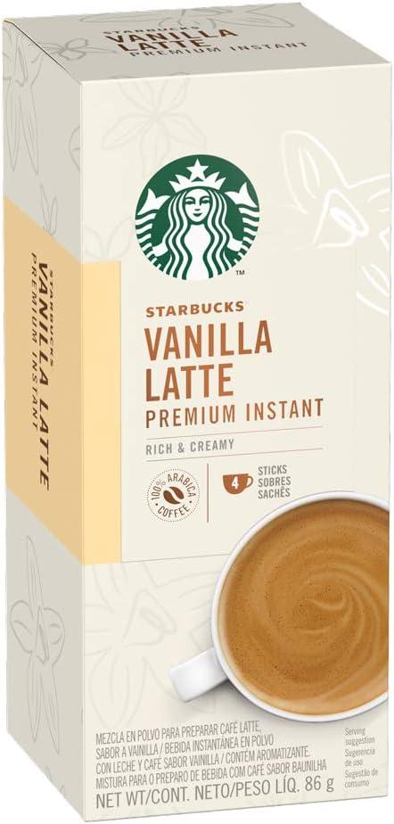 Sachê Solúvel Starbucks Vanilla Cappuccino
