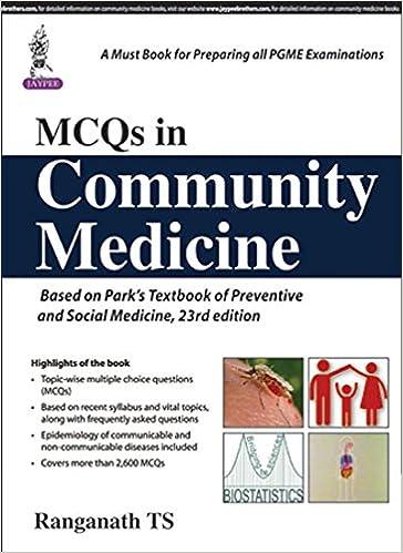 Buy MCQs in Community Medicine (PGMEE) Book Online at Low