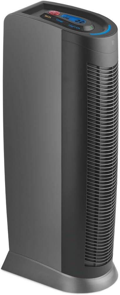 Hoover WH10600 Negro - Purificador de aire (Negro, HEPA/carbono ...