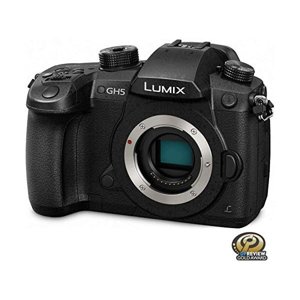 RetinaPix Panasonic Lumix GH5 DC-GH5KBODY 20.3MP 4K Mirrorless Camera