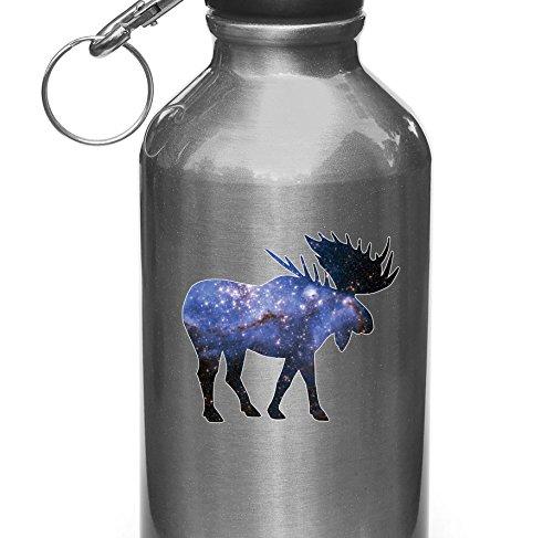 Cosmic Moose - Spirit Animal - Vinyl Decal for Water Bottle | Thermos Vinyl Decal Copyright Yadda-Yadda Design Co. (3.25