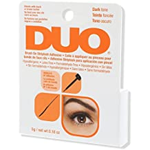 DUO Brush-On StripLash Adhesive, Dark, Hypoallergenic, Latex & Formaldehyde Free, 0.18 oz
