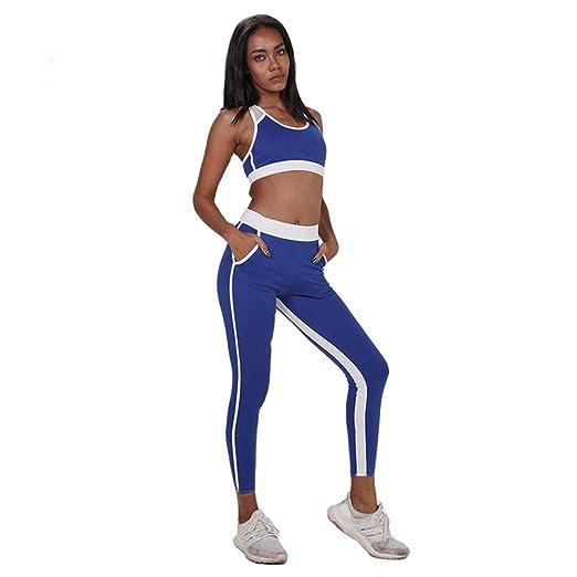 Glhkkp-sp Mono Deportivo de Yoga para Mujer Traje de Running ...