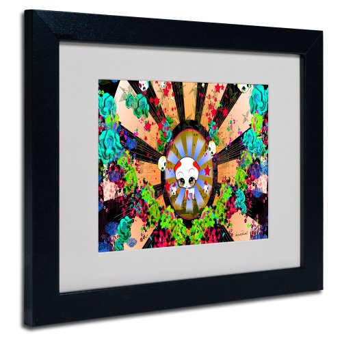New Hummingbirds by Miguel Paredes, Black Frame 11x14-Inch