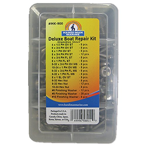 Handi-Man Deluxe Handi-Pack Repair Kit - 168 Pieces by Handi-Man