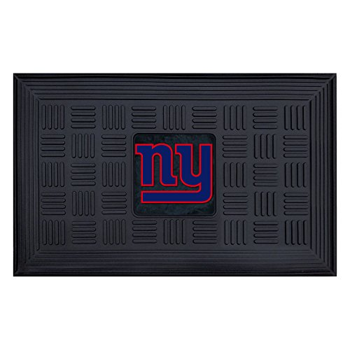 "Fan Mats NFL New York Giants Medallion Door Mat 18"" x 30"""