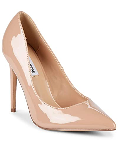 9141d85bcb6 Steve Madden Womens Orkid Leather Pointed Toe Classic Pumps