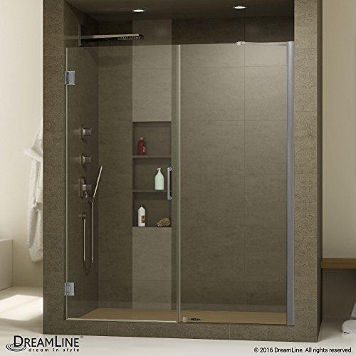Frameless Hinged Shower Door - 7
