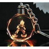 Dragon Ball Dragonball Z Crystal Led Key Chain (Son Gokū)