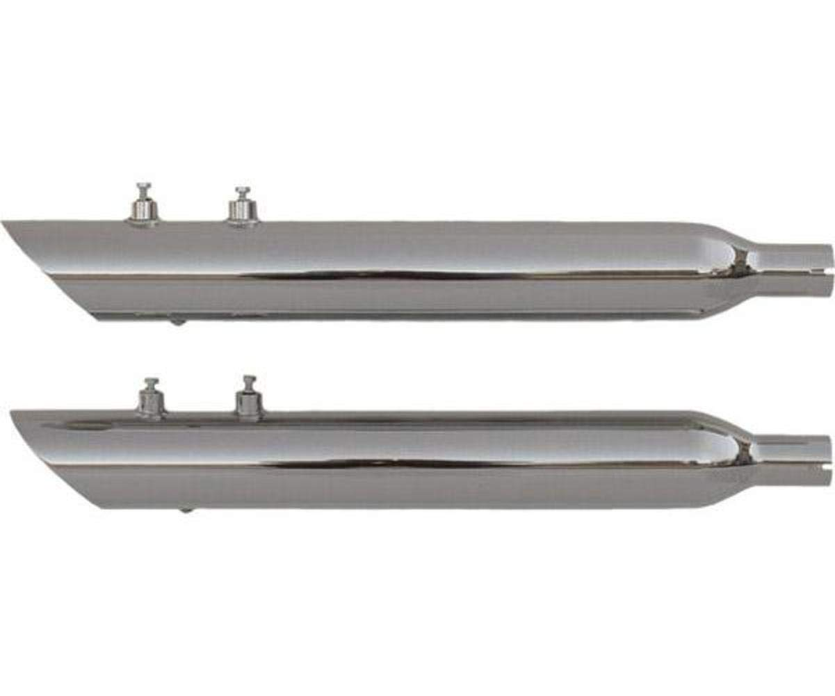4. Rush 4 Prime, Big Louie Slash Down Slip-On Muffler 2.5 Prime, Baffle 32001-250