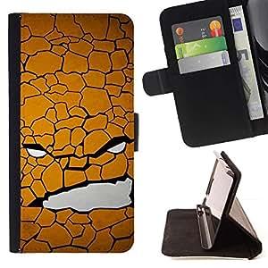 Momo Phone Case / Flip Funda de Cuero Case Cover - Cara Textura - LG G4c Curve H522Y (G4 MINI), NOT FOR LG G4