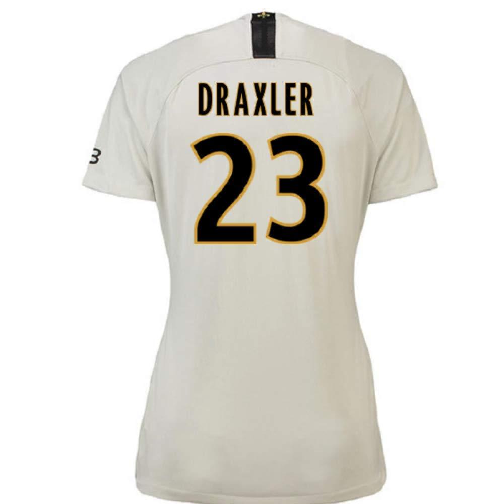 2018-19 PSG Away Damenschuhe Football Soccer T-Shirt Trikot (Julian Draxler 23)