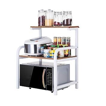 Amazon.com: Estantería para horno de microondas, para cocina ...