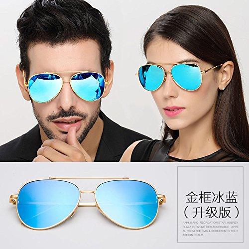 Gafas Sol Gafas De Gafas Gafas Hombres D Sol Mujeres Personas De C Reflectantes LLZTYJ Impulsión Gafas De Sol Cumpleaños Luz Decoración Hombre Polarizadores Para Hombres Viento De Regalos Sol 1RWdqwv