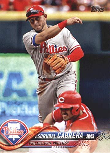 2018 Topps Update and Highlights Baseball Series #US116 Asdrubal Cabrera Philadelphia Phillies Official MLB Trading Card
