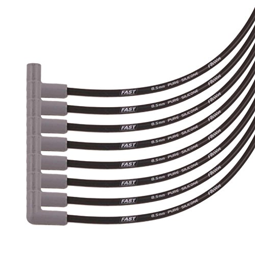 (COMP Cams 255-0082 Universal 8 Cylinder 8.5mm Spark Plug Wire Set (90 Degree Boot))
