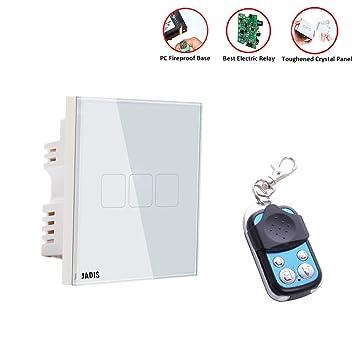 Smart Wall Touch Schalter UK Standard, Touchscreen, Home Dimmer ...