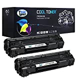 Cool Toner Compatible Toner Cartridge Replacement For HP 78A CE278A ( Black, 2 Pack )