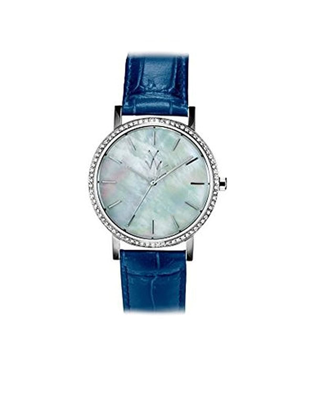 Armbanduhr TOY WATCH Maya mym02wh Quarz (Batterie) Stahl Quandrante Perlmutt Armband Leder