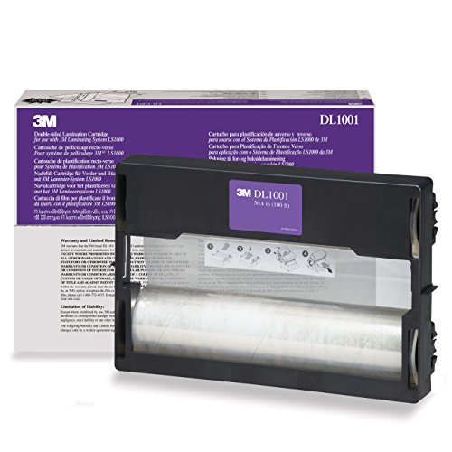 3M Dual Laminate Refill Cartridge DL1001, 12 Inches x 100 Feet, -