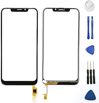 PREVOA Reemplazo Pantalla táctil para OUKITEL C13 Pro Smartphone ...