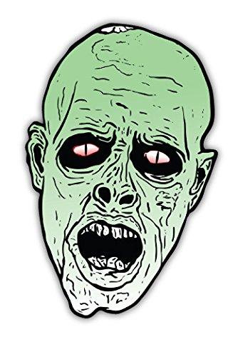 (Zombi halloween sticker decal 4