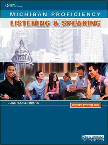 Téléchargements gratuits de livres électroniquesMichigan Proficiency Listening & Speaking Revised Edition 2009 en français PDF ePub MOBI