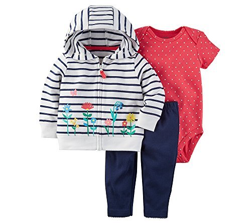 Carter's Baby Girls' 3 Piece Little Jacket Set 18 Months