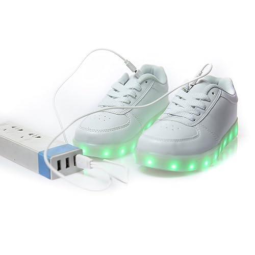zapato con luz deportivas