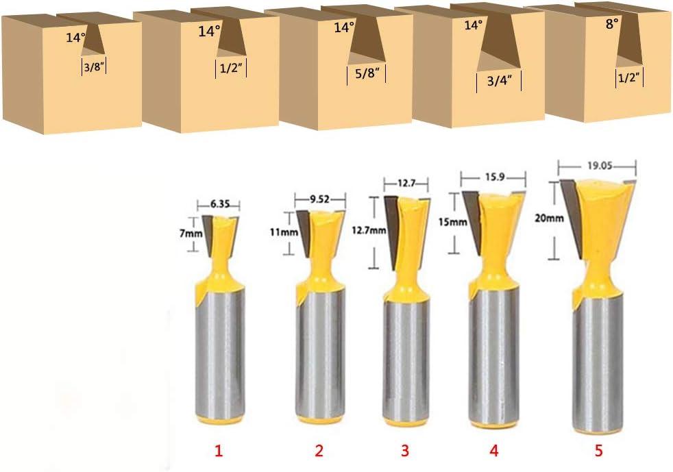 C 12,7 mm sans arraseurs ENT Fraise queue darronde Carbure Queue D 32 mm B 12,7 mm Diam/ètre 8 mm E 14/° A