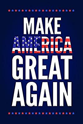 Make America Great Again Trump Campaign Poster 12x18 By A-ONE POSTERS