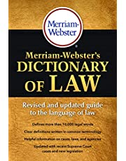 Merriam-Webster's Dictionary of Law: Revised and updated guide to the language of law
