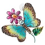 Sun Catcher - Blue Butterfly, Material; Metal/Glass