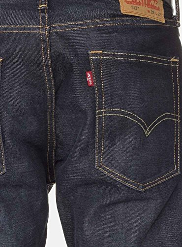 Slim 513 Levi's Bleu Bowman Lake Straight Jeans HEqw1xZZ
