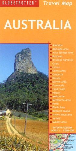 Globetrotter Travel Map - Australia Travel Map (Globetrotter Travel Map)