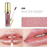OVERMAL Lip Glosses Waterproof Long Lasting Liquid Velvet Matte Lipstick Makeup Lip Gloss Lip (03# Lip Gloss)
