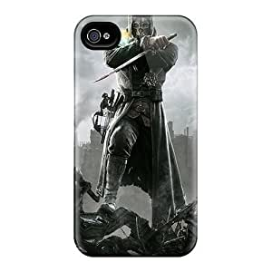 Apple Iphone 4/4s Best Cell-phone Hard Cover Support Personal Customs Colorful Dishonored 2012 Hd Series [Xnr4035EWxN]