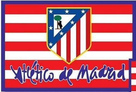BANDERA OFICIAL ATLETICO DE MADRID - MODELO CLASICO 150X100CM ...