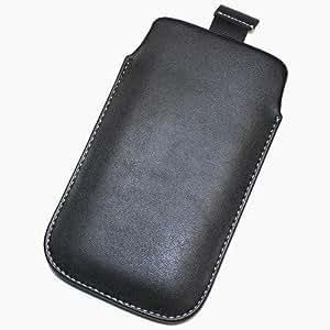 Duragadget-Funda de piel sintética con tapa para WIKO CINK fibra de la