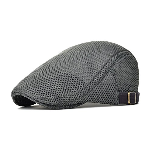 King Star Men Breathable Mesh Summer Hat Newsboy Beret for sale  Delivered anywhere in Canada