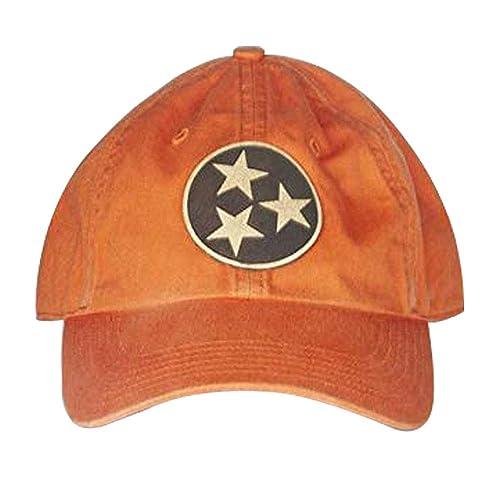 Amazon.com  Stoked Hats - Handmade Tri Star Tennessee Custom-Made ... 3c81b0980cb
