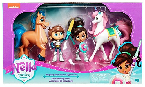 Nella - The Princess Knight - Knightly Adventures Figure Set -