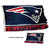 WinCraft New England Patriots Double Sided Allegiance Flag Review