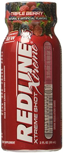 VPX Redline Xtreme, Triple Berry, 6 Count
