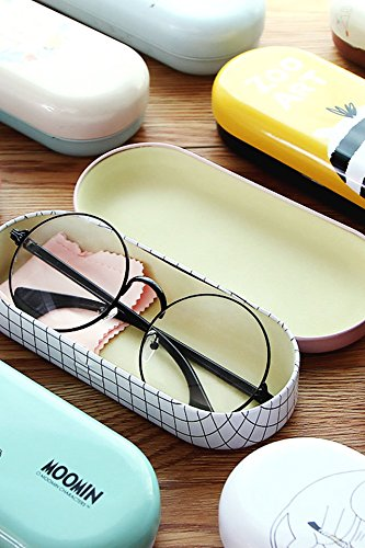 Generic Small_beauty_Spectacle_Case_ women girls _Korean_ cute glasses_admit_ students _metal_box