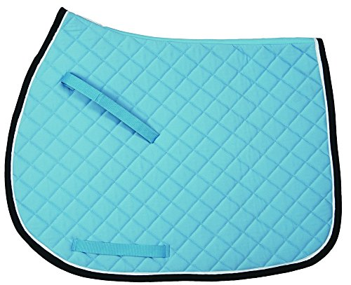 TuffRider Basic All Purpose Saddle Pad w/Trim And Piping for sale  Delivered anywhere in USA