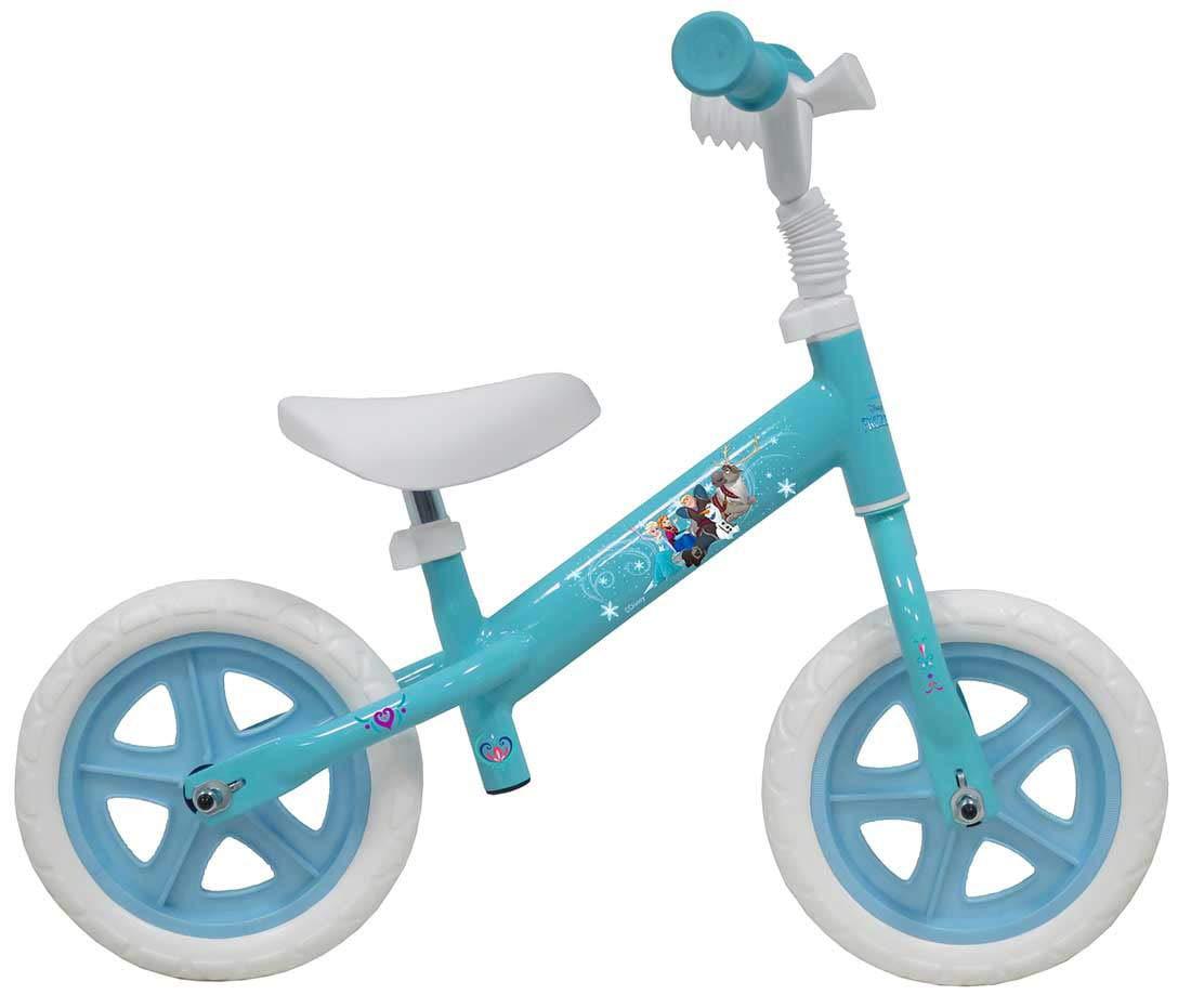 Giordanoshop Bicicletta Pedagogica per Bambina 10  Senza Pedali Frozen