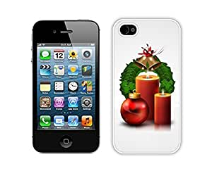 For Iphone 6 4.7 Inch Case Cover Christmas Jingling Bell Decoration Durability For Iphone 6 4.7 Inch Case Cover Silicone White Case