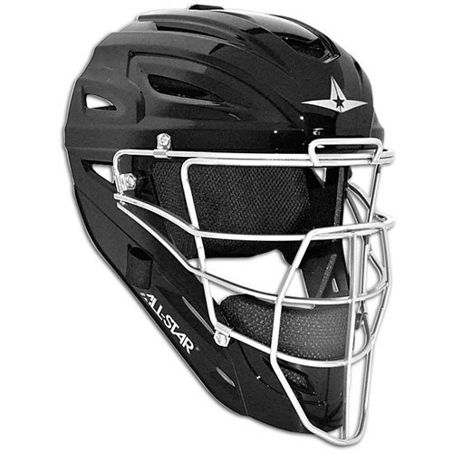 All Star System 7 Catchers Helmets Fits 7-7 1/2 Black by All-Star