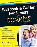 img - for Facebook and Twitter For Seniors For Dummies by Collier, Marsha (2014) Paperback book / textbook / text book